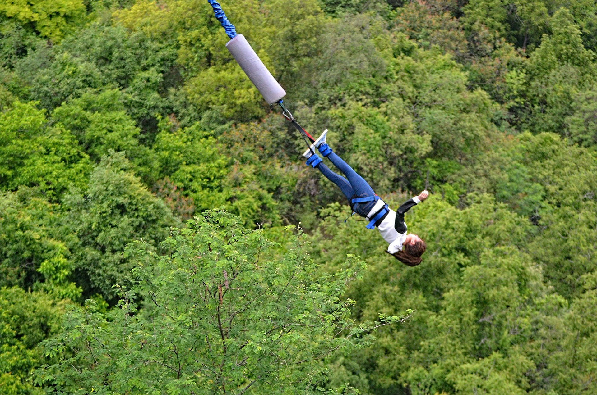 Best Places For Bungee Jumping In India